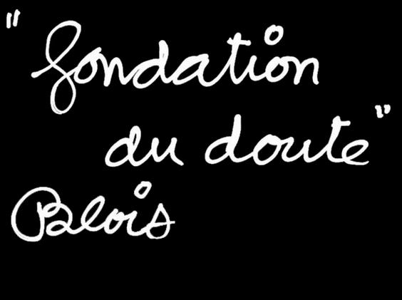 Fondation du doute